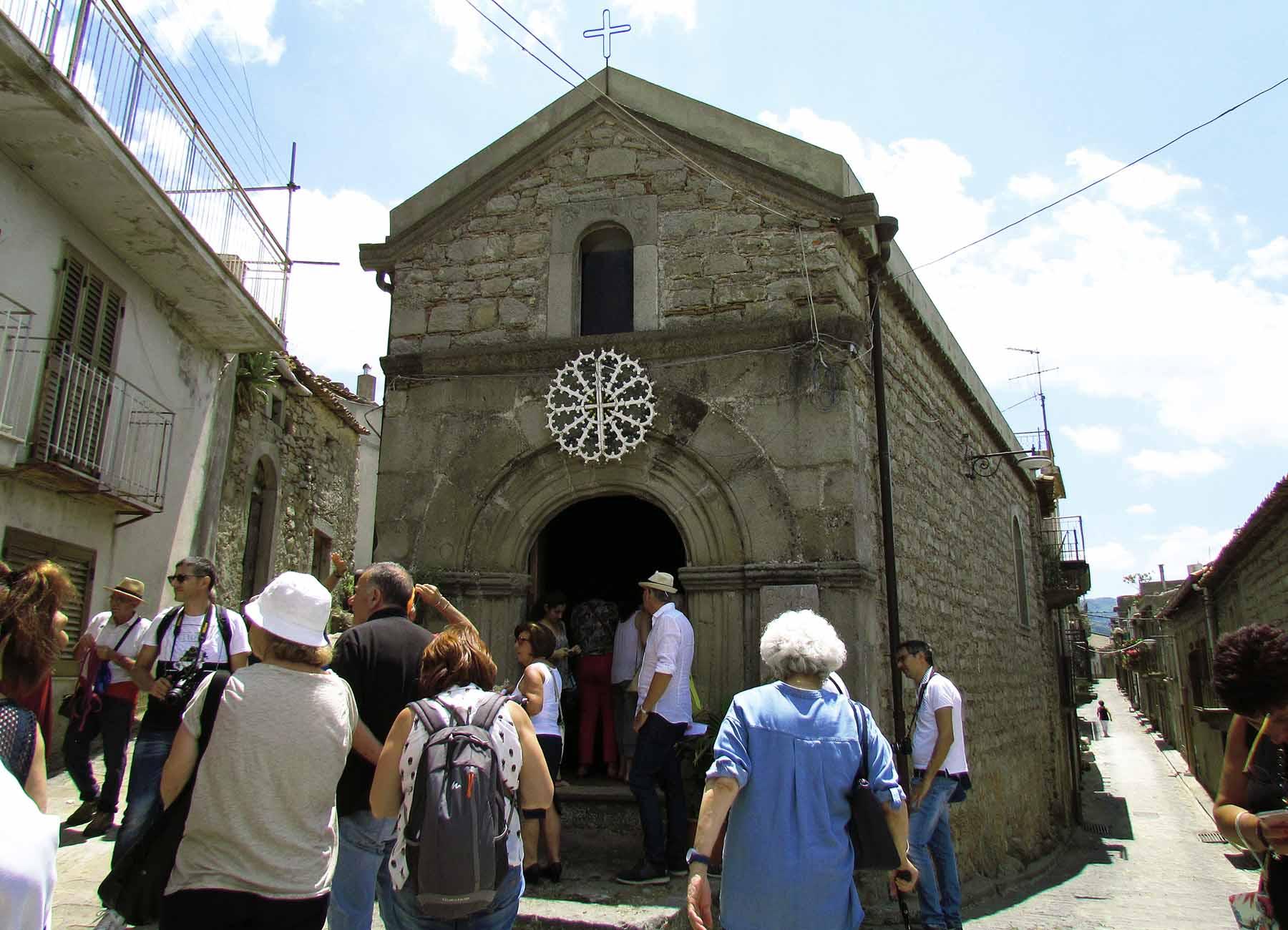 Montalbano Elicona visita  guidata al borgo