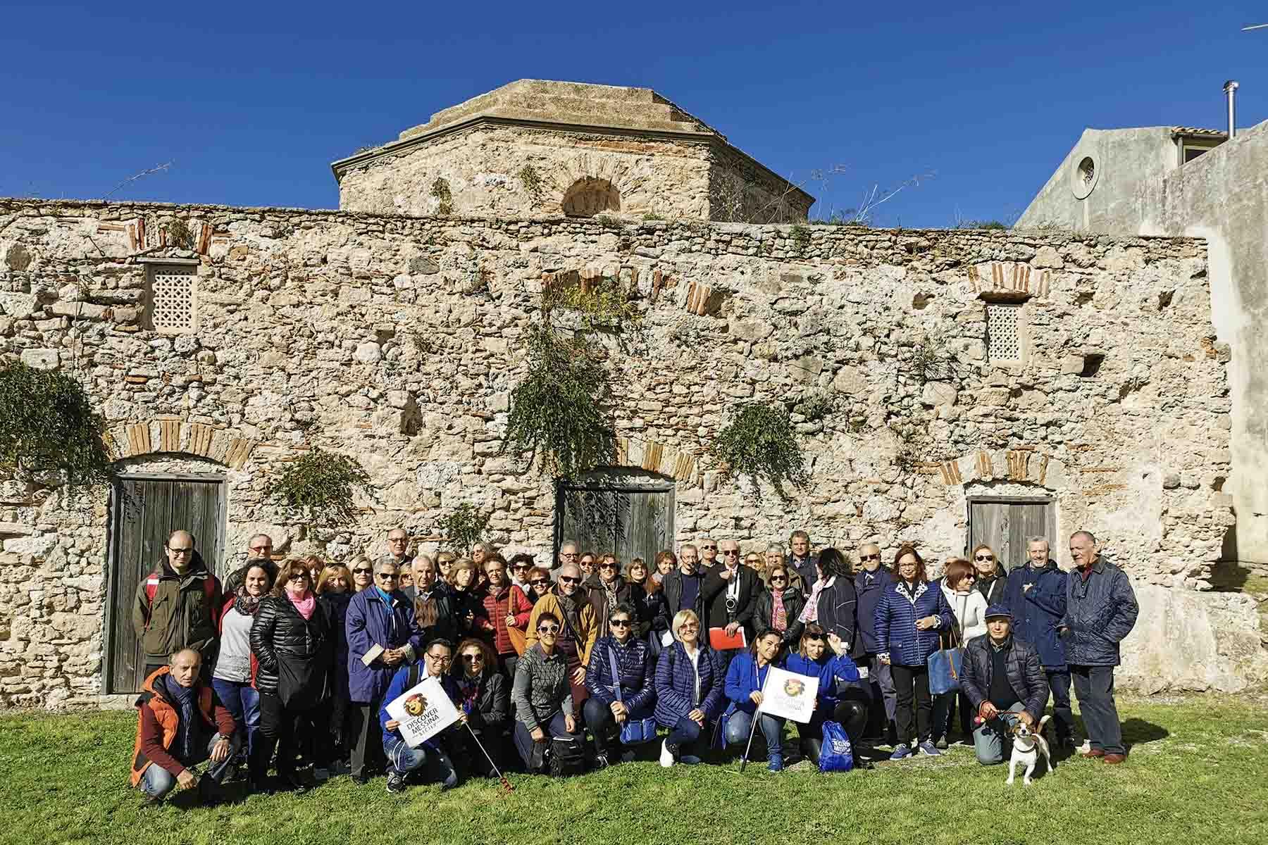 Visita alla chies bizantina di Gesù e Maria a Rometta Superiore